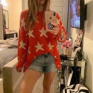 Wildfox Seeing Stars Lenon Sweater